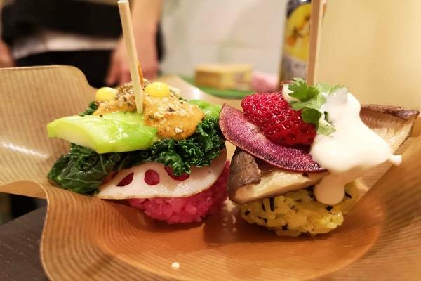 【デリバリー】カラフル手まり寿司盛り合わせ(2〜3人前) 5,000円