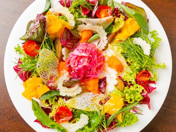 24種類の野菜とプチ贅沢なフレンチ洋食《グルメコース》全5品 8,000円 (4名様から)